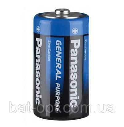 Батарейка Panasonic General R20 D (трей)