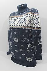 Шерстяные женские туники S 756 (двойная вязка), фото 3
