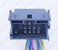 Разъем электрический 21-о контактный (42-27) б/у 9676351;1967630