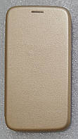 Чохол книжка LEVEL (Kira) Samsung Galaxy J5 2015 (J500) gold