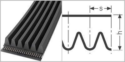 Ремень поликлиновой Contitech PM3937