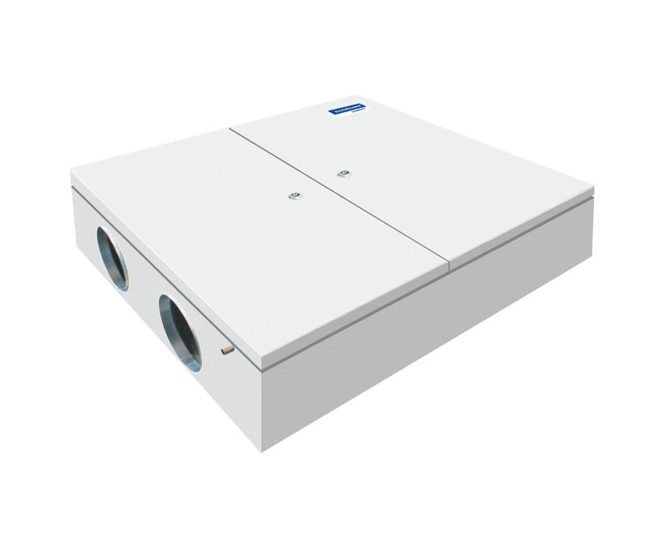Енергоефективна та низькошумна  вентиляційна установка Komfovent  Domekt CF 500 F з пластинчатим рекуператором