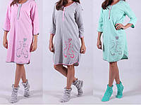 Рекомендуем!  Эко ночная туника Теплая для беременных и кормящих мам ночнушка без синтетики