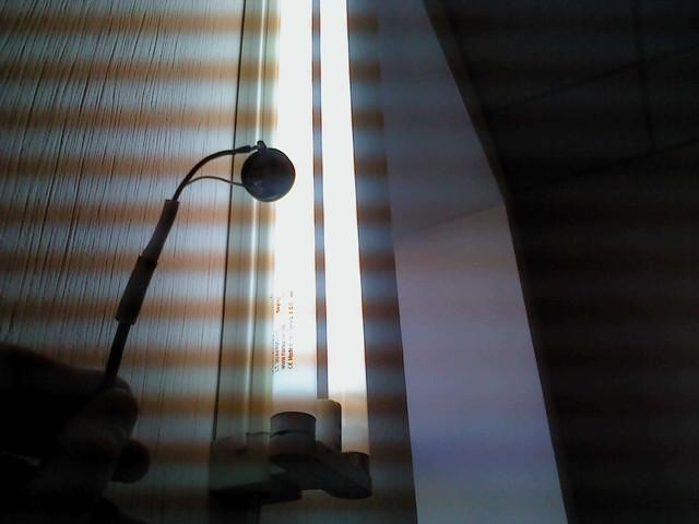 Люминесцентная лампа со стартером и дросселем