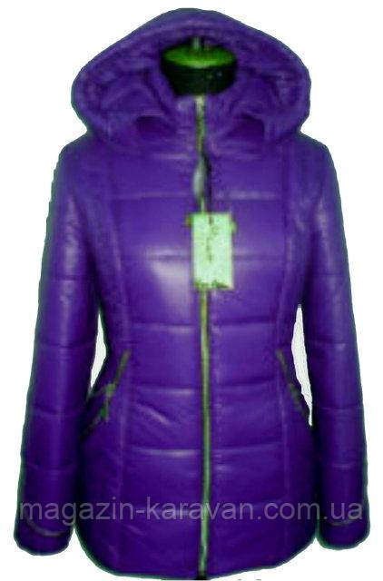 Куртка зимняя женская ЛД 39-1 Фиалка