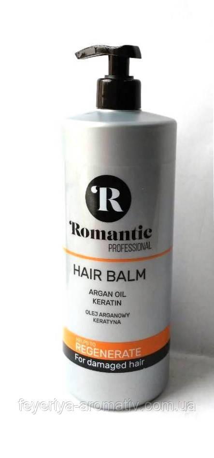 Бальзам-кондиционер для сухих и поврежденных волос Romantic Regenerate, 850мл (Польша)