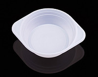 Тарелка одноразовая пластиковая d 500 мл