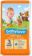 Подгузники Babylove  premium-windel 3 midi (4-9 кг) 50 шт.