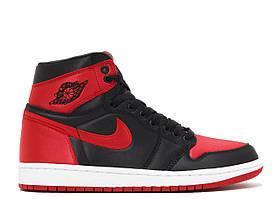 Кроссовки Air Jordan 1 Black Red