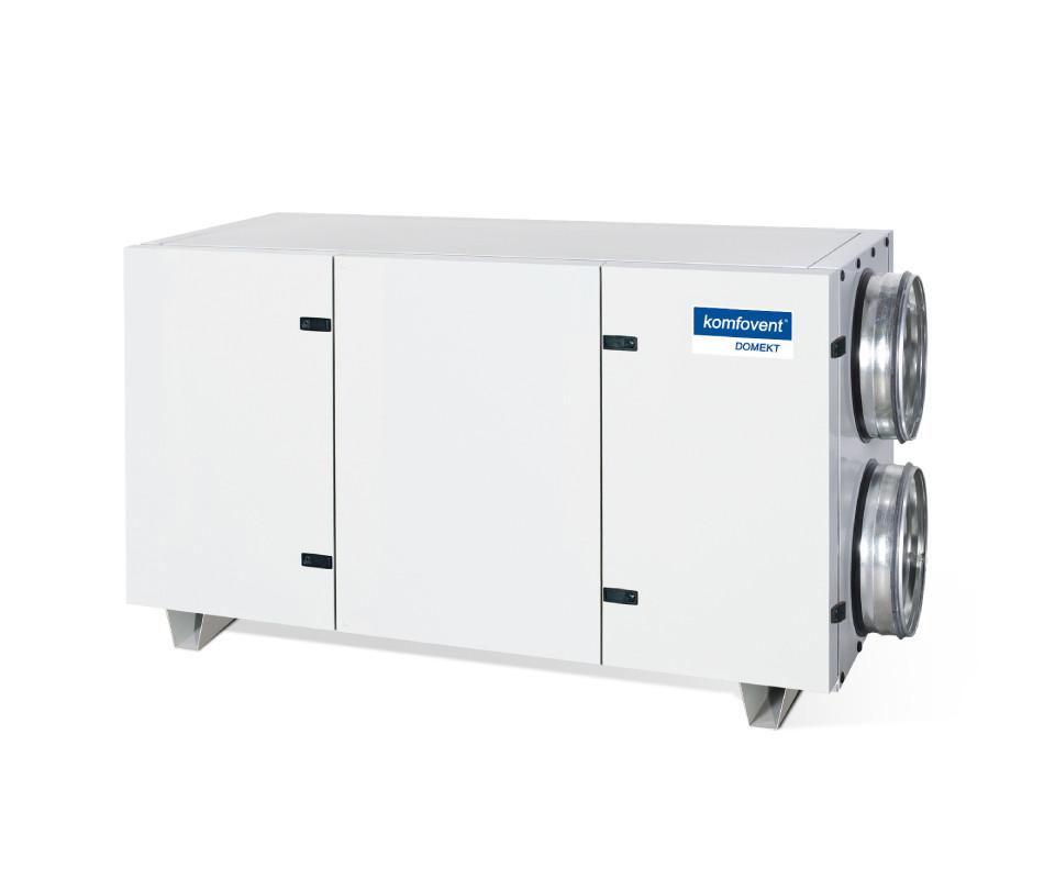 Енергоефективна та низькошумна  вентиляційна установка Komfovent  Domekt CF 700 H з пластинчатим рекуператором