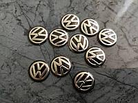 Логотип на ключи, брелок  для Volkswagen VW - 14мм