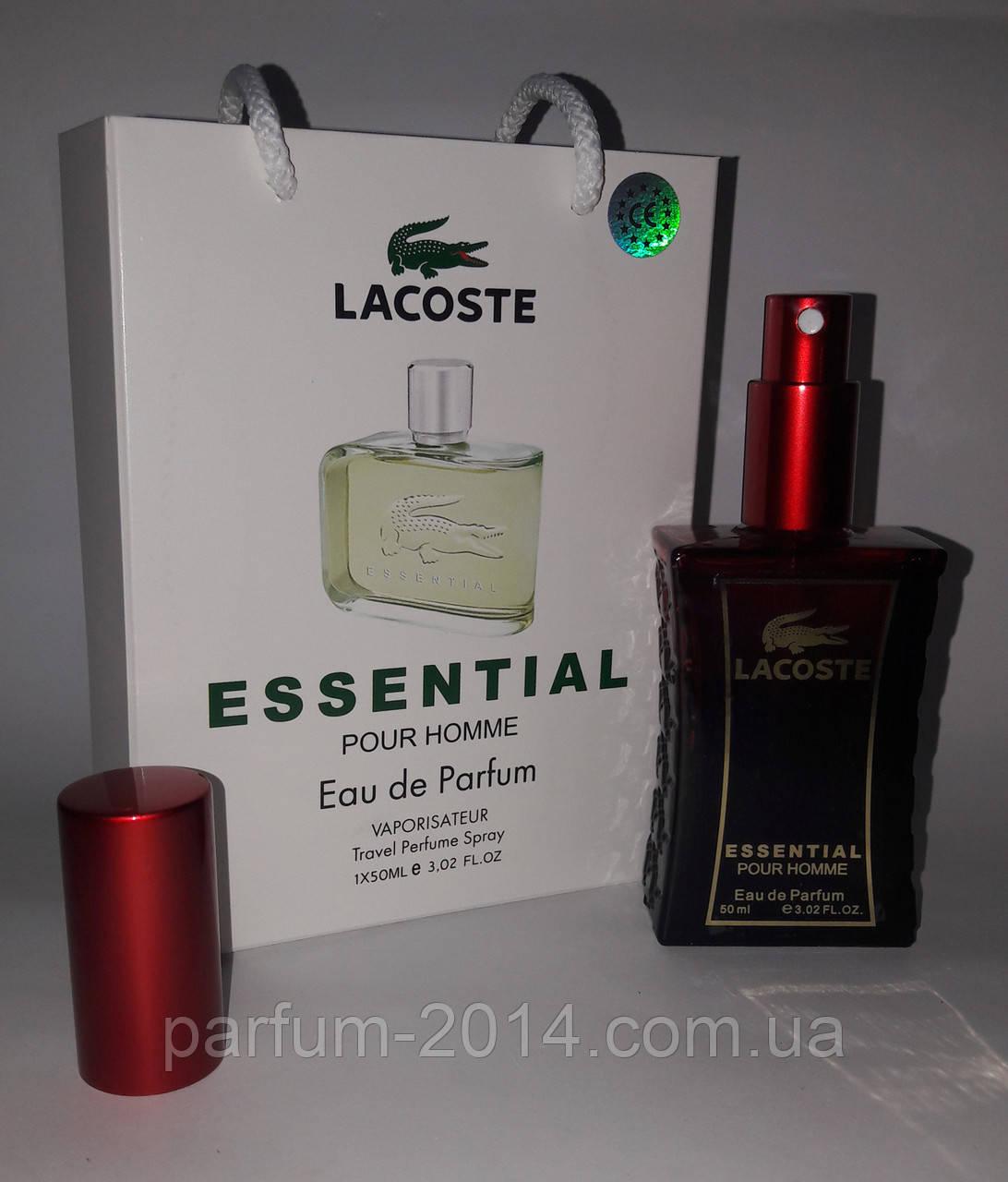 0102a6366b42 Мини парфюм Lacoste Essential в подарочной упаковке 50 ml (реплика) -  Parfum-2014