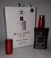 Мини парфюм Chanel Allure Homme Sport в подарочной упаковке 50 ml (реплика)