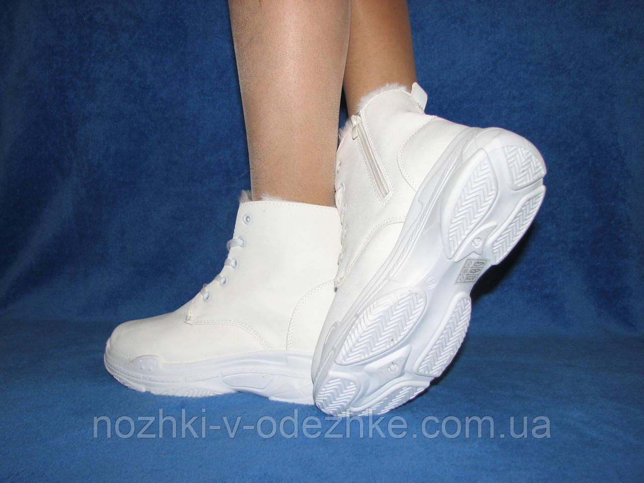 подростковые зимние спортивные ботинки кросы на подошве под