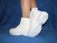Подростковые зимние спортивные ботинки кросы на подошве под белансиега Balenciaga 41
