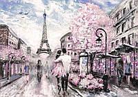 Фотообои город (флизелин, бумага, 312х219, 368х254, 416х254) Париж на картине (11470CN)