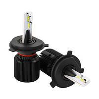 Автолампа LED H4 Cyclon 4500LM, 5000K, 12-24V CSP type 21, фото 1