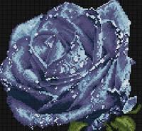 """Алмазная картина """"Большая роза"""""""