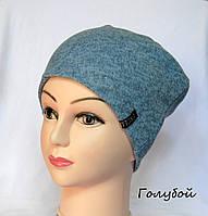 Женская шапка из ангоры-софт