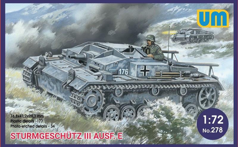 STURMGESCHUTZ III AUSF E. 1/72 UM 278