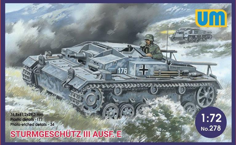 STURMGESCHUTZ III AUSF E. 1/72 UM 278, фото 2