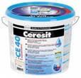 СЕ-40 Эластичная водостойкая затирка для швов до 5 мм (светло-голубой) - 2 кг
