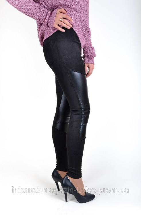 Черные женские лосины, фото 2