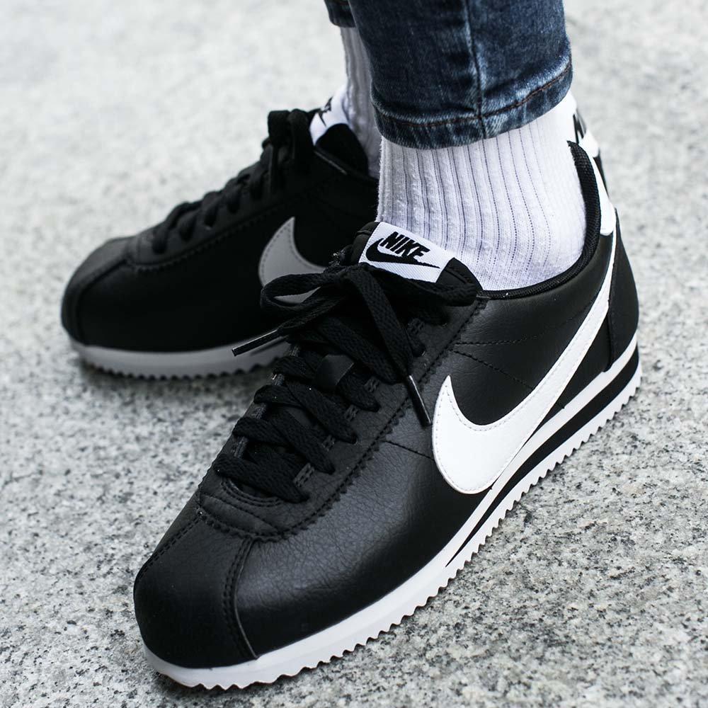 64ed9b51d1af66 Мужские кроссовки Nike Cortez Classic Leather Black ( Реплика ) 44, цена 1  192,73 грн., купить в Киеве — Prom.ua (ID#967390052)
