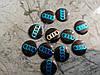 Логотип на ключи, брелок  для AUDI - 14мм