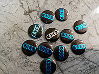 Логотип на ключи, брелок  для AUDI - 14мм, фото 1