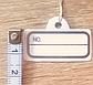 Ценник на резинке 3 х 1,5 см, фото 3