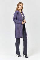 SEWEL Кардиган XW468  (46-48, фиолетовый, 75% акрил/ 15% полиамид/ 10% шерсть)