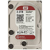 HDD SATA 2.0TB WD Red 5400rpm 64МB (WD20EFRX)