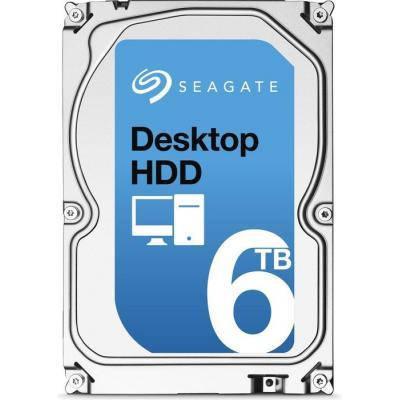 HDD SATA 6.0TB Seagate Desktop HDD 7200rpm 128MB (ST6000DM001)