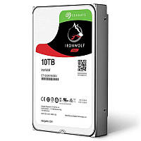 HDD SATA 10.0TB Seagate IronWolf NAS 7200rpm 256MB (ST10000VN0004)