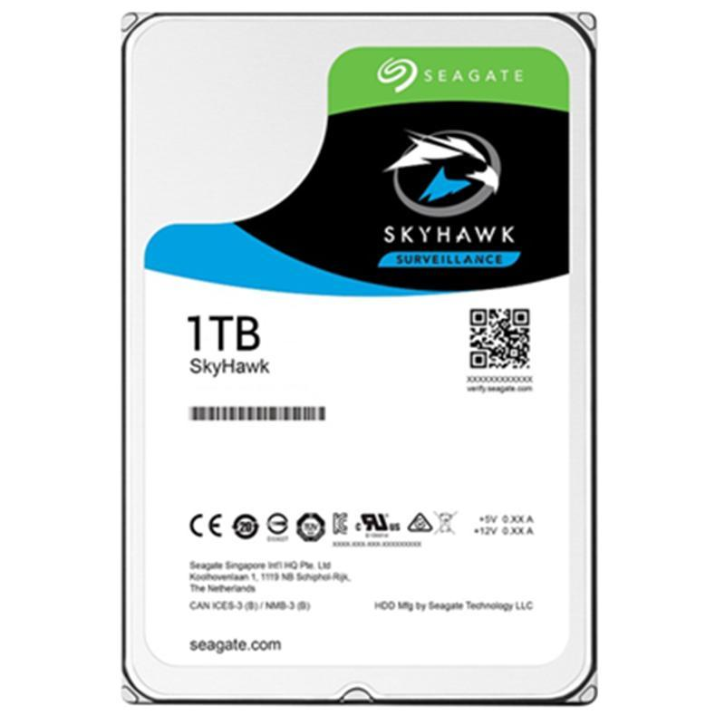Накопитель HDD SATA 1.0TB Seagate SkyHawk Surveillance 5900rpm 64MB (ST1000VX005)