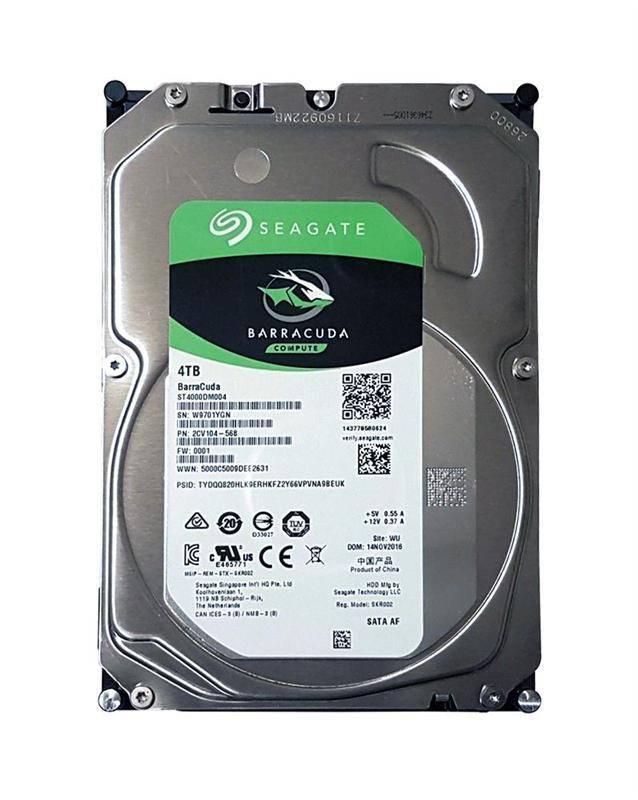 HDD SATA 4.0TB Seagate BarraCuda 5400rpm 256MB (ST4000DM004)