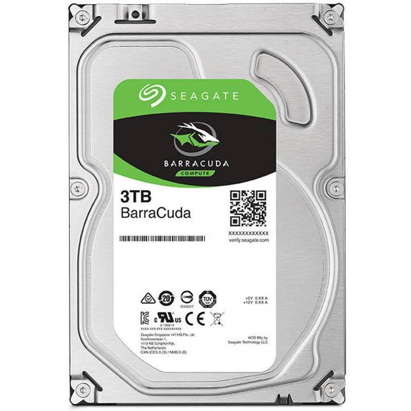 HDD SATA 3.0TB Seagate BarraCuda 256MB (ST3000DM007)