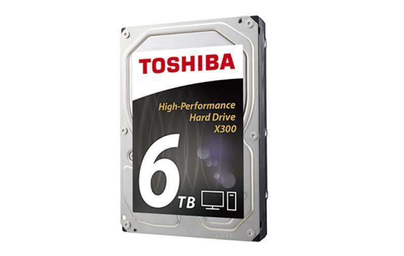 HDD SATA 6.0TB Toshiba X300 7200rpm 128MB (HDWE160EZSTA)