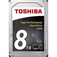 HDD SATA 8.0TB Toshiba X300 7200rpm 128MB (HDWF180EZSTA)