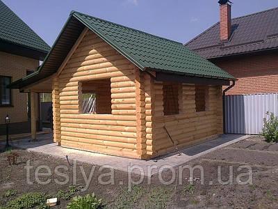 Будівництво дерев'яних будинків,котеджів,зрубів,бань.