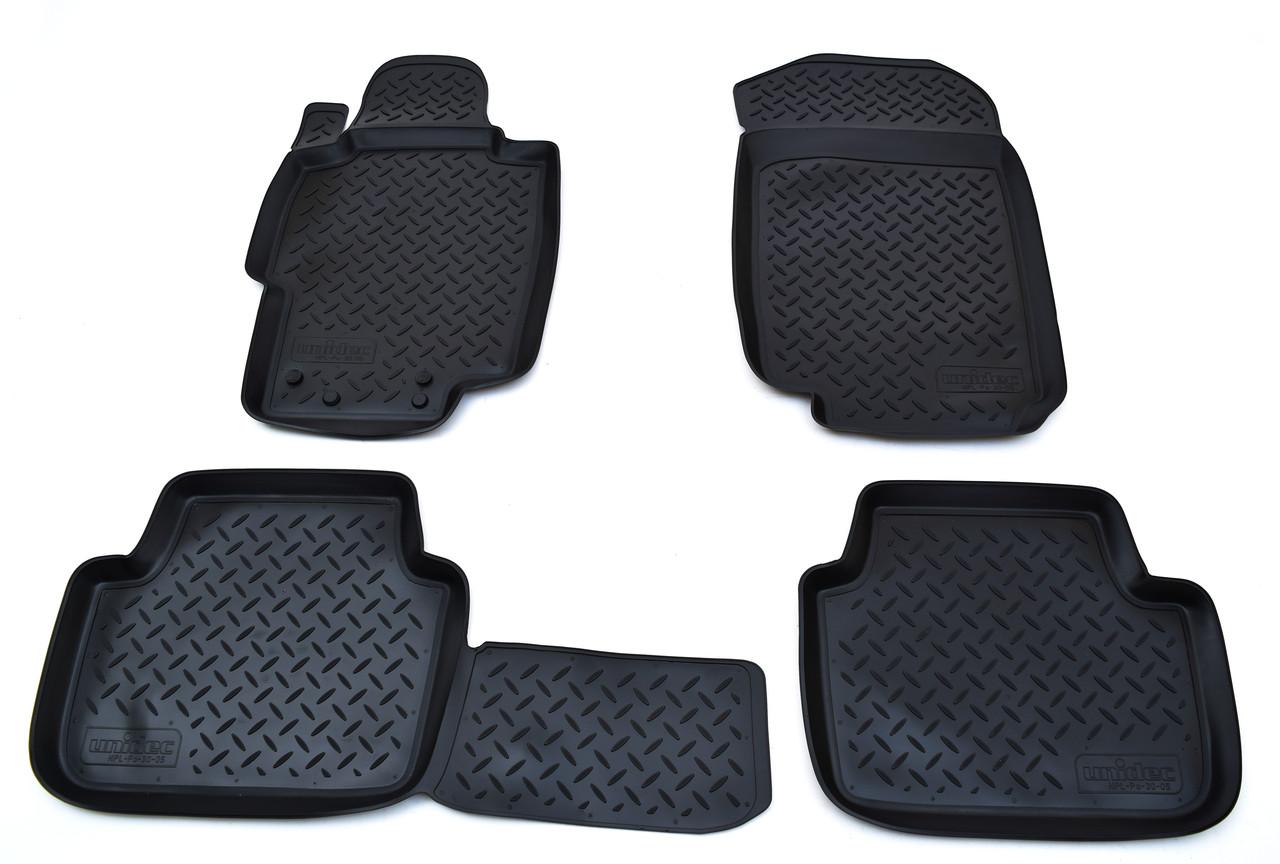 Килимки в салон для Honda Accord VII (03-08) (полиур., компл - 4шт) NPL-Po-30-05