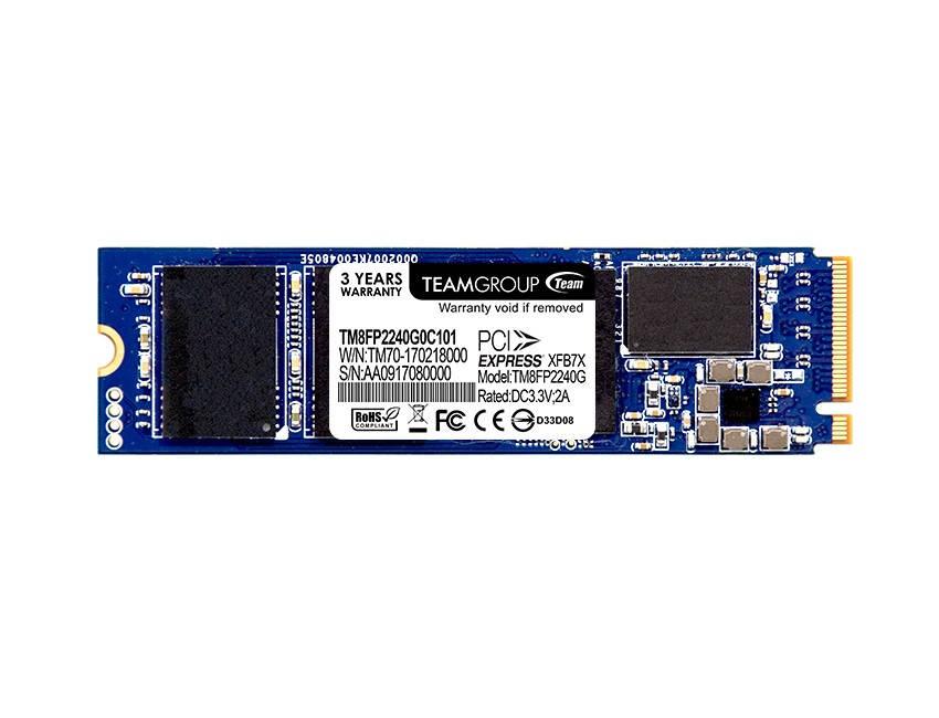 SSD  240GB Team P30 M.2 2280 PCIe 3.0 x4 MLC (TM8FP2240G0C101)