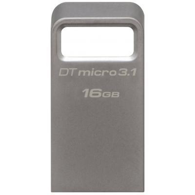 Флеш-накопитель USB3.1 16Gb Kingston DataTraveler Micro 3.1 (DTMC3/16GB)