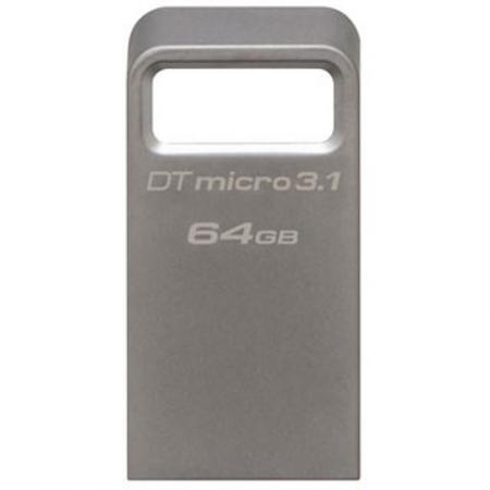 Флеш-накопитель USB3.1  64Gb Kingston DataTraveler Micro USB 3.1 (DTMC3/64GB)