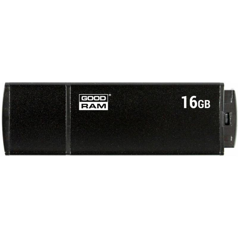 Флеш-накопитель USB3.0 16GB GOODRAM UEG3 (Edge) Black (UEG3-0160K0R11)