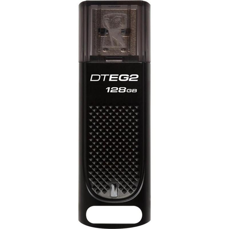 Флеш-накопитель USB3.1 128GB Kingston DataTraveler Elite G2 Black (DTEG2/128GB)