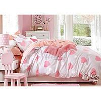 Подростковый Комплект постельного белья сатин Вилюта Viluta 267 bcb115e8e45b7