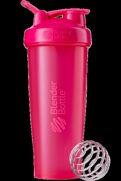 Спортивный шейкер BlenderBottle Classic Loop 940ml Pink FL (ORIGINAL) , фото 1