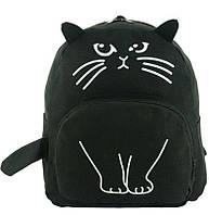 Рюкзак детский Кот с ушками Traum 7005-10, черный 14 л